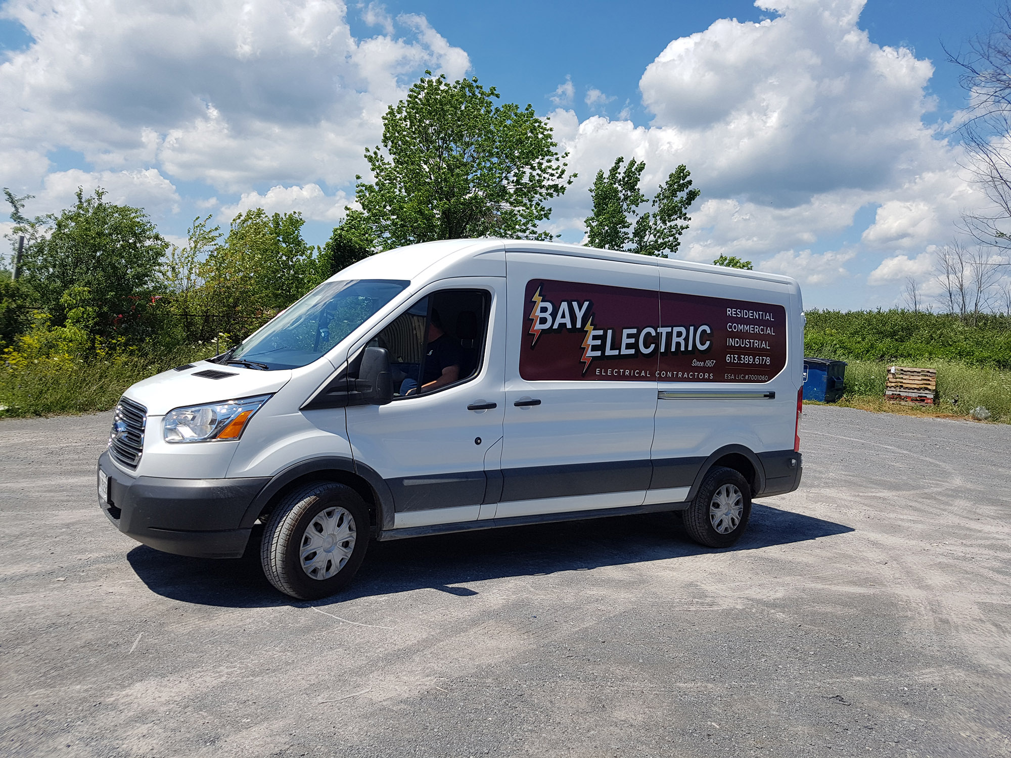 Bay Electric Van