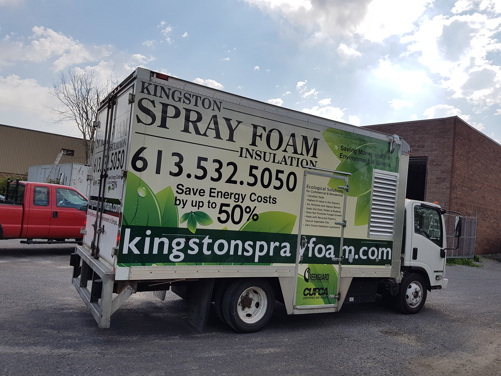 Kingston Spray Foam Cube Van