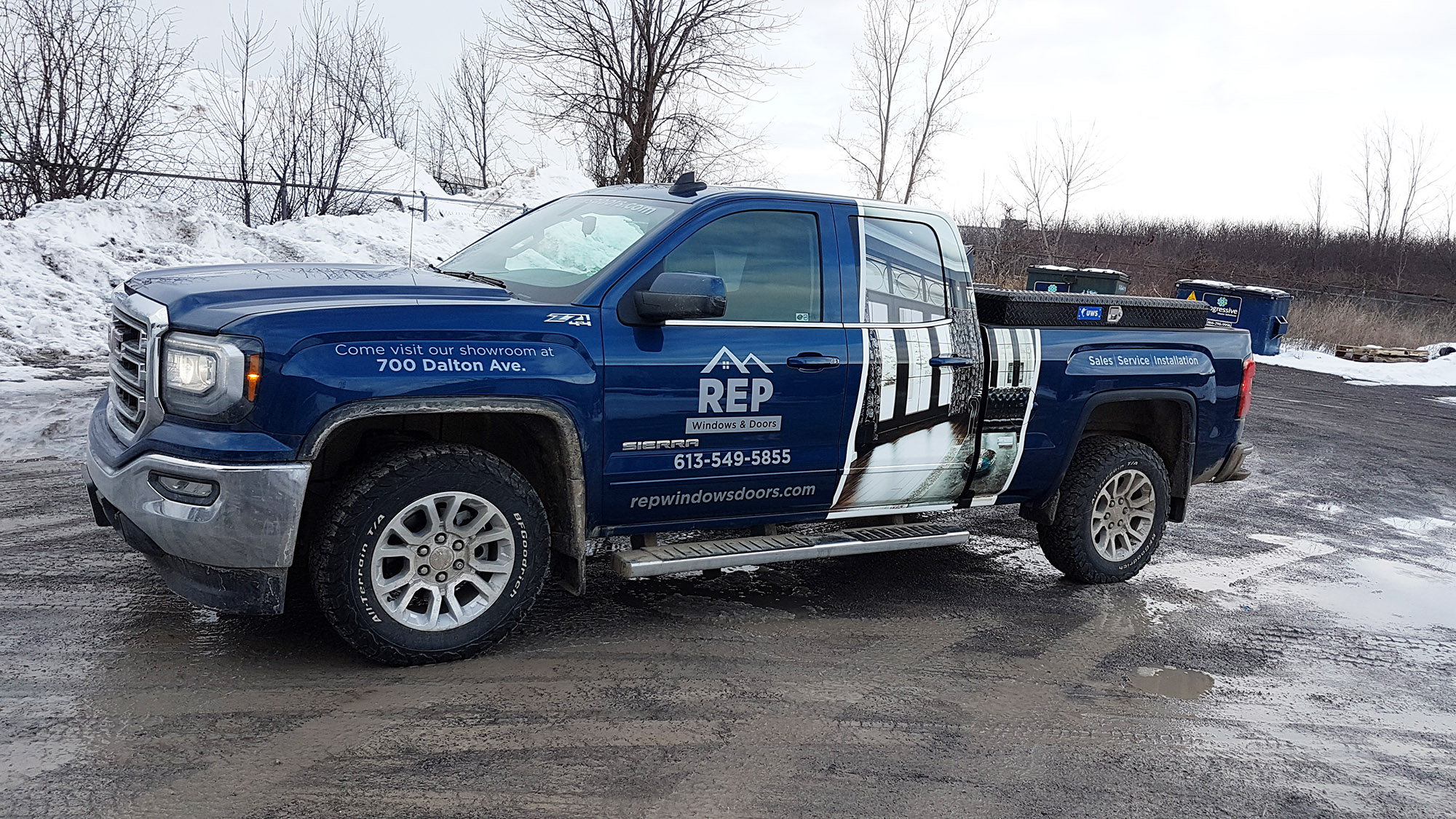 REP Windows & Doors GMC Sierra
