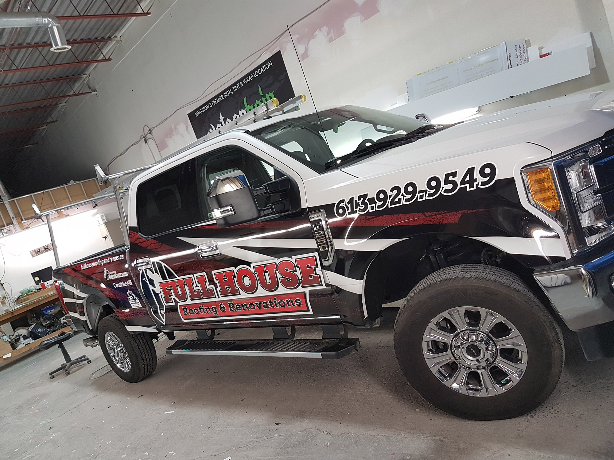 Full House Roofing Ford F-250