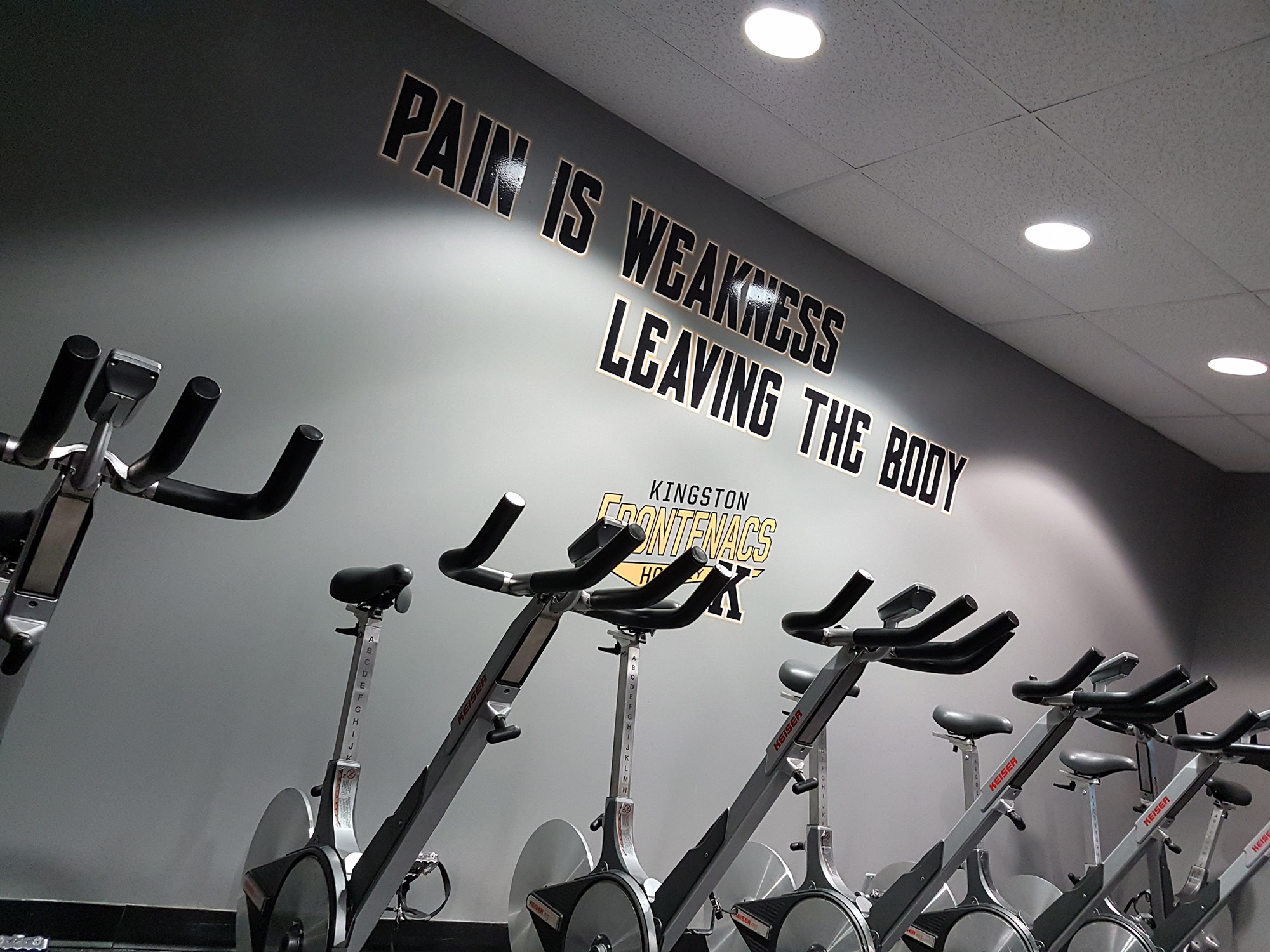 Kingston Frontenacs Fitness Room
