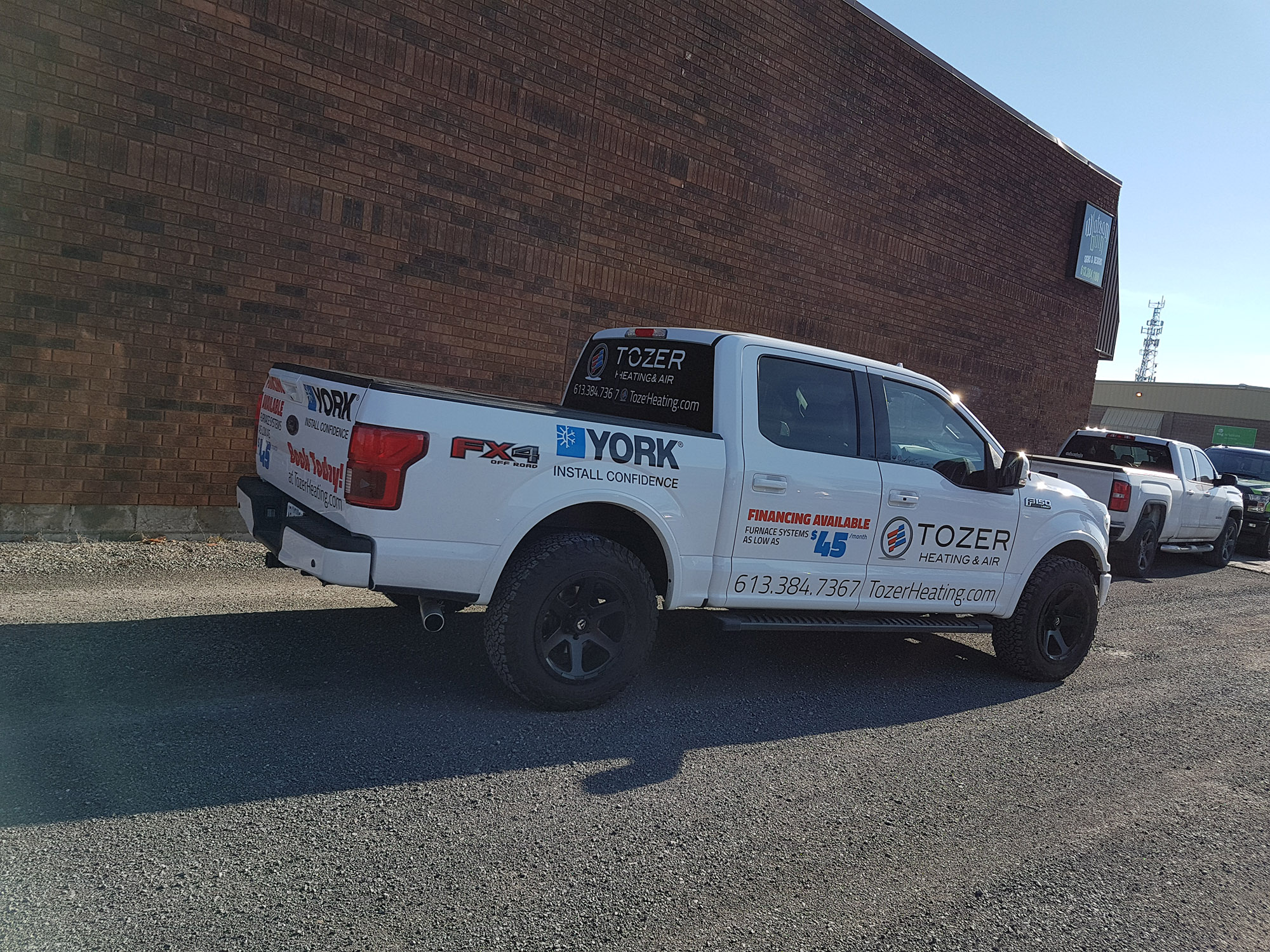 Tozer Heating & Air Ford F-150