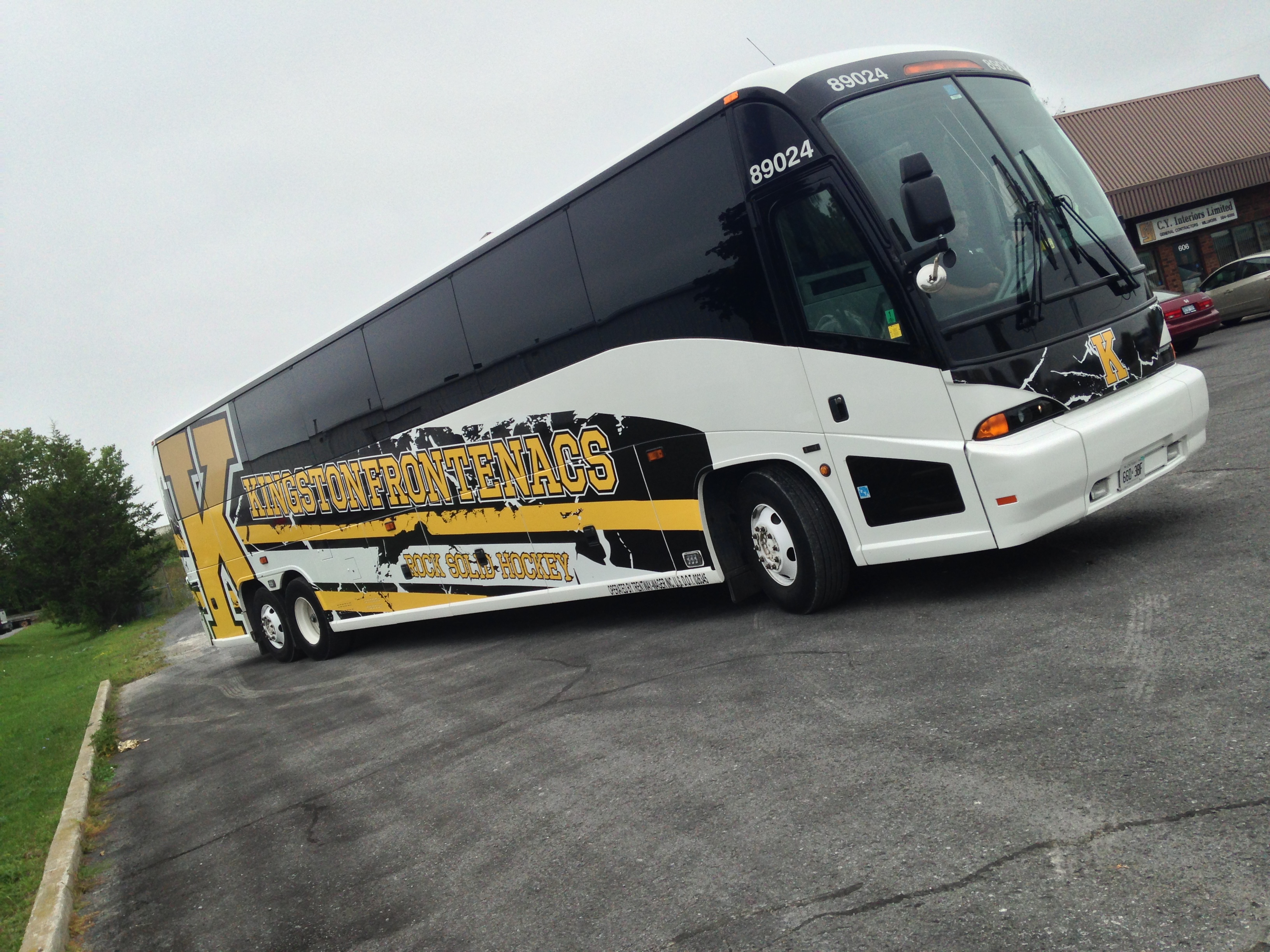 Kingston Frontenacs Coach Bus
